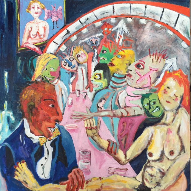 , 'Mess Hall,' 2015, Paraphé