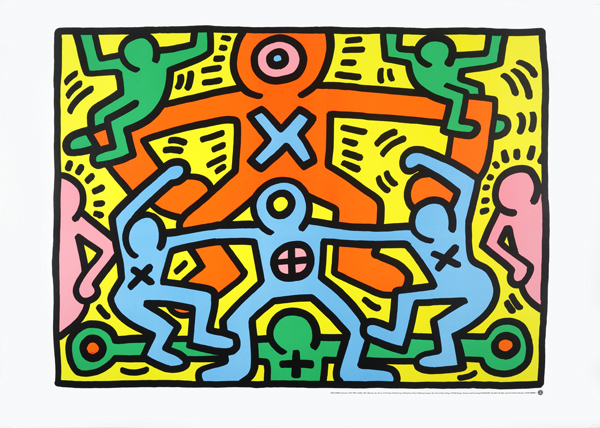 Keith Haring, 'Untitled (1985)', ca. 1998, EHC Fine Art