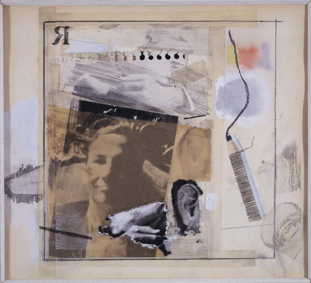 Robert Rauschenberg, 'Untitled [self-portrait for Dwan poster]', 1965, Robert Rauschenberg Foundation