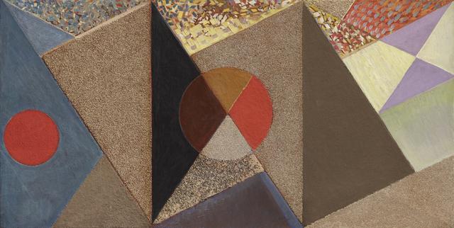 , 'Harmonie des matières,' 1958, Galerie Marcilhac