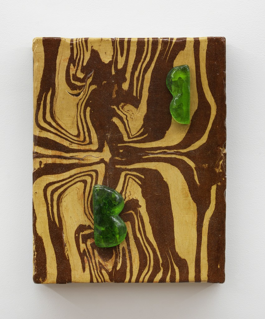 """Two Green Lovers (Alfred Painting 2)"", 2013 