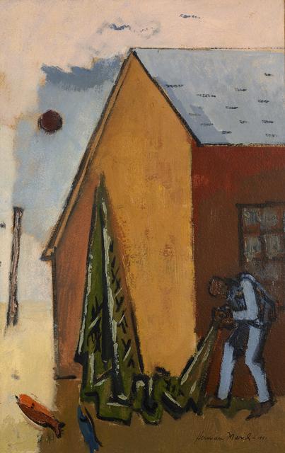 , 'Net and Barn,' 1951, Debra Force Fine Art