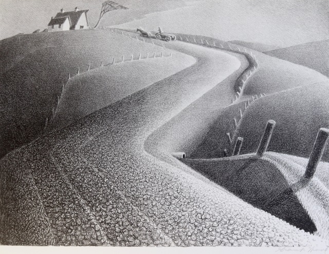 Grant Wood, 'March', 1941, Aaron Galleries