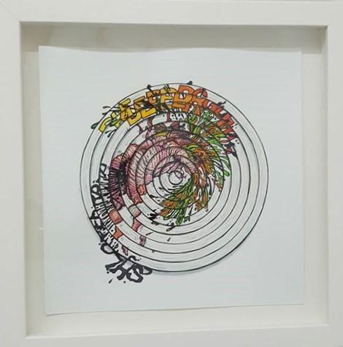 , 'BLEERRGH (study 4),' 2016-2017, Ro2 Art