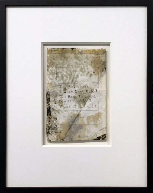 , 'I'm So Excited - Original,' 2010, Hang-Up Gallery