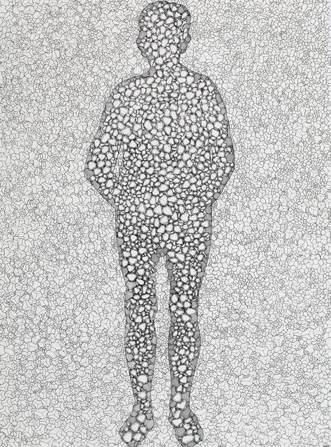 , 'Divided Man 11,' 2016, Miller Yezerski Gallery