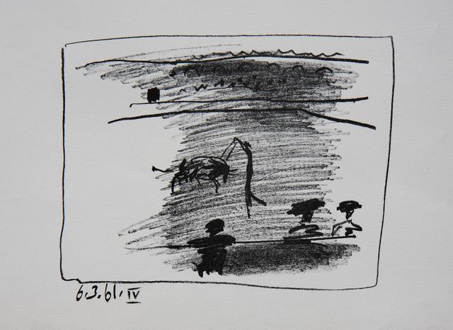 Pablo Picasso, 'Los Toros - Les Banderilles (B.1016)', 1961, Denis Bloch Fine Art
