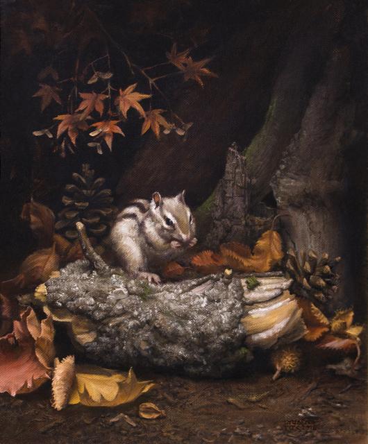 , 'Autumn Chipmunk,' 2016, Snow Pearl Art Gallery