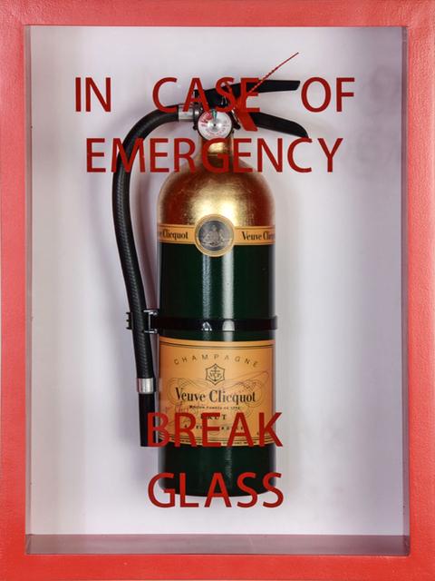 , 'In Case of Emergency Break Glass,' 2019, Bruce Lurie Gallery