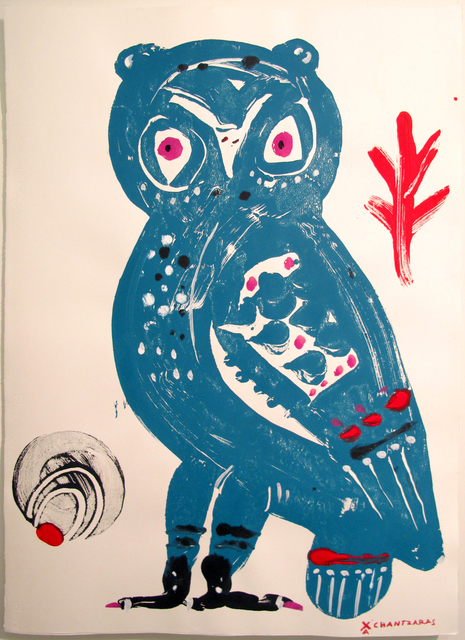, 'Owl # 7 - The Wise Guys,' 2017, DECORAZONgallery
