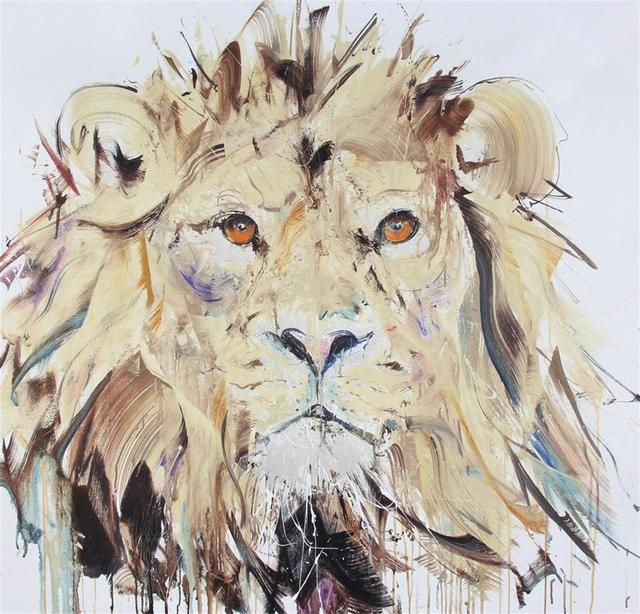 Dave White, 'Lion II - Framed', 2016, Hang-Up Gallery