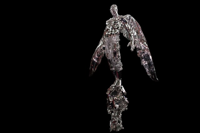 Ren Zhe 任哲, '雷; Lei', 2017, Sculpture, Stainless Steel, Linda Gallery