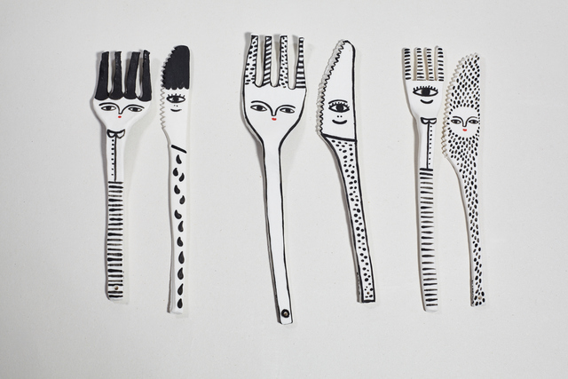Kinska, 'Forks and Knives', 2017-2019, NOW Gallery