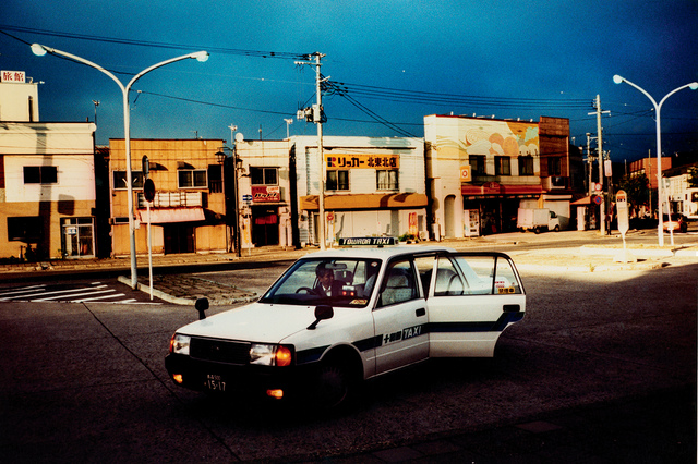 , 'Ghost town taxi,' 2014, IBASHO