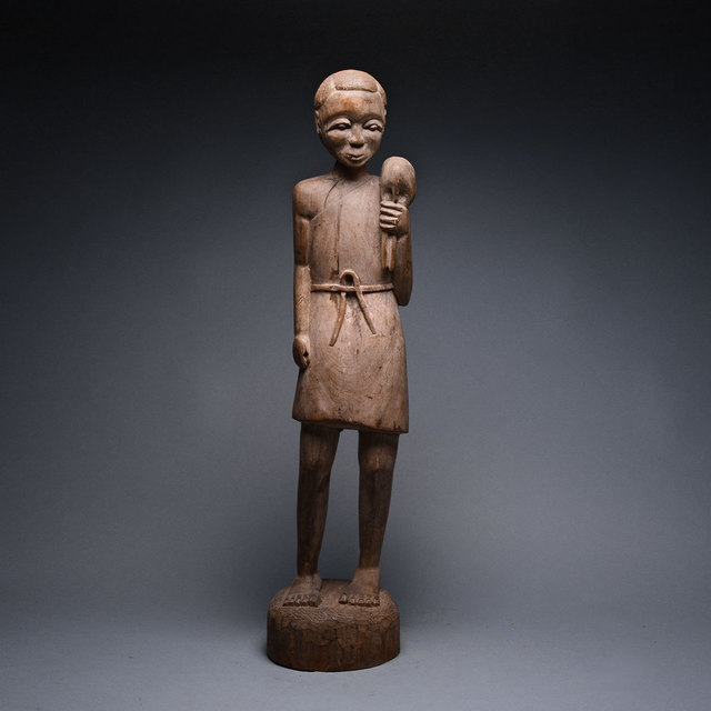 Unknown African, 'Bambara Wooden Sculpture of Christ', 20th Century AD, Barakat Gallery