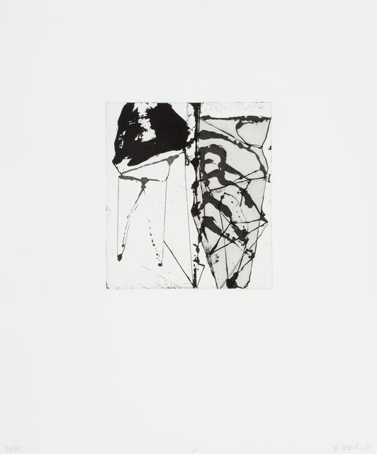 Brice Marden, 'Etchings to Rexroth, 15', 1986, Heritage Auctions