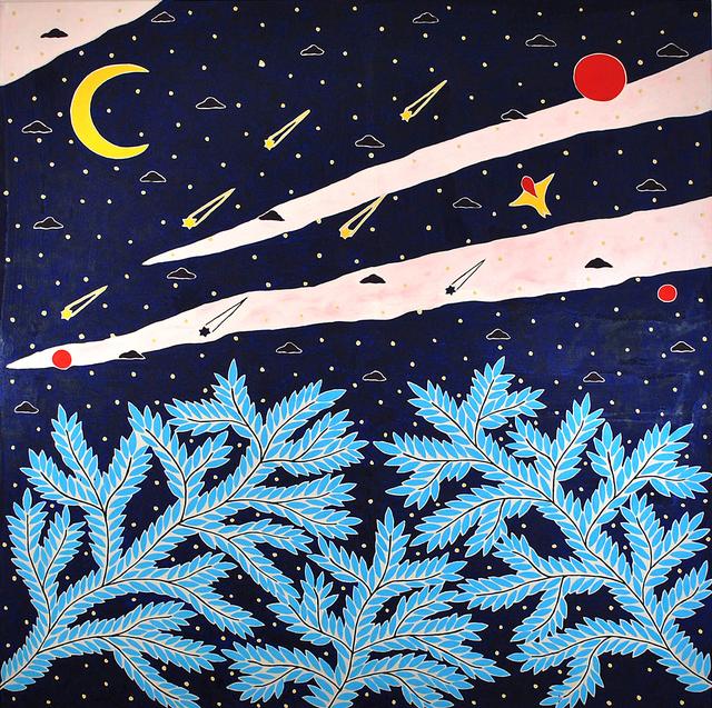Anders SCRMN Meisner, 'Pleiades', 2020, Painting, Oil on canvas, Hans Alf Gallery