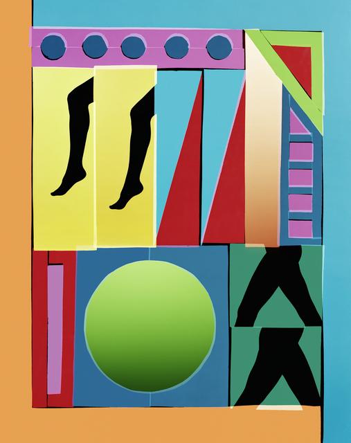 , 'Stride 1,' 2016, Galerie Christophe Gaillard