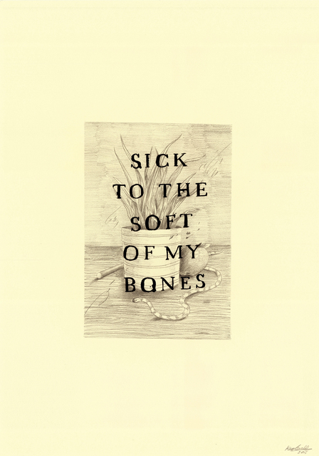 , 'The Soft of My Bones,' 2016, Lawrence Alkin Gallery