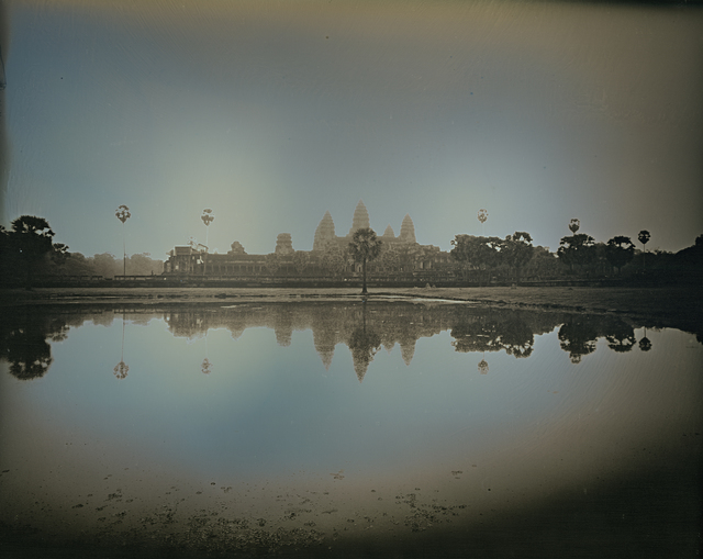 , 'Reflection of Angkor Wat Temples, Siem Reap,' 2017, Lisa Sette Gallery