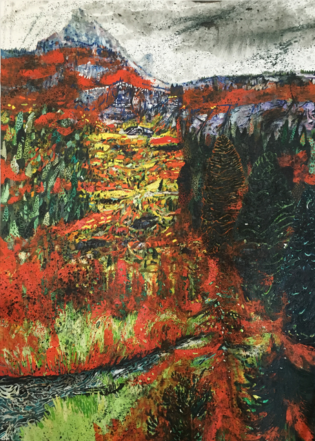 , 'Landscape (Wyoming),' 2015, Galerie Peter Kilchmann