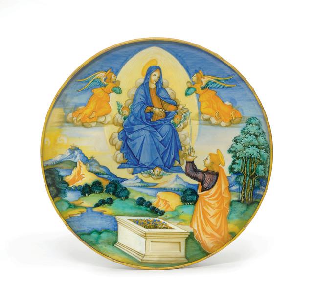 , 'An Urbino Maiolica Istoriato Footed Dish (Alzata),' ca. 1525, Christie's Old Masters