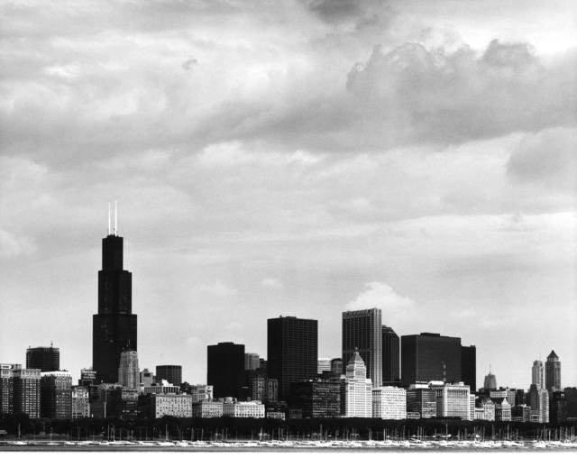 William W. Fuller, 'Skyline, Chicago, Illinois', 1984, Photography, Gelatin silver prints, Etherton Gallery