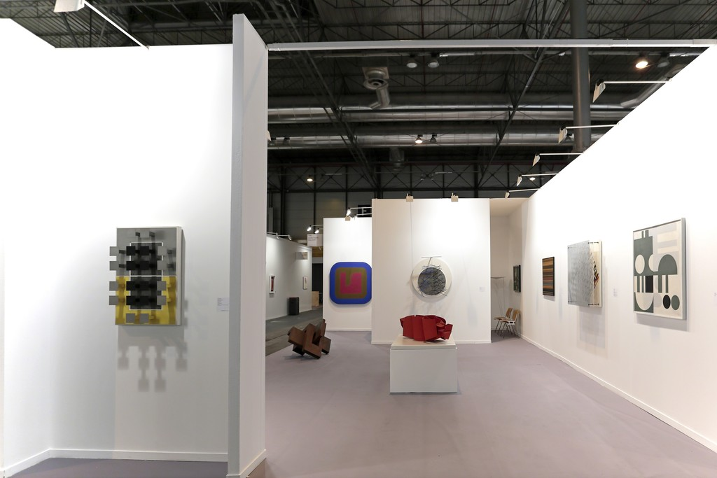 Leon Tovar Gallery at ARCO Madrid 2016.  Booth 7F08.