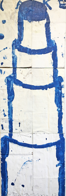 , 'Cake (Blue on White),' 2012, Madelyn Jordon Fine Art