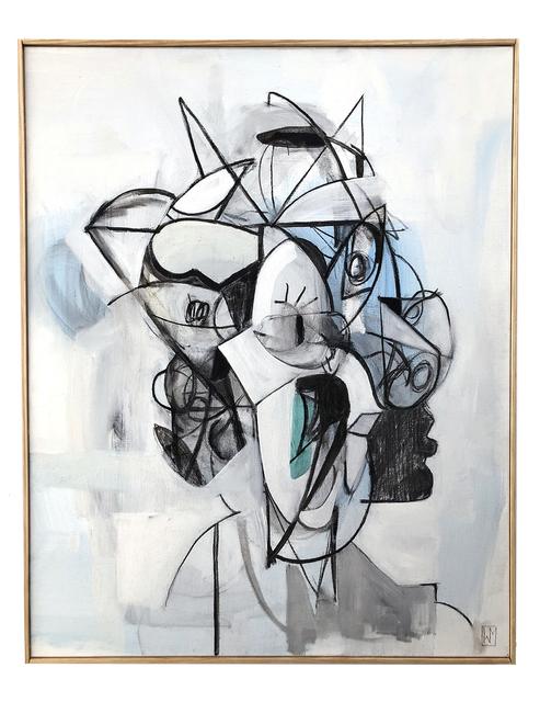 Wyatt Mills, 'Face Studies', 2018, Mirus Gallery