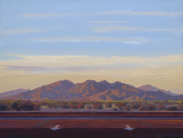 , 'Woolsey Peak with Arrows, Gila Bend,' 2015, Sue Greenwood Fine Art