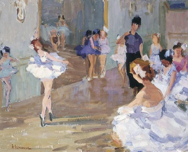 , 'Ballet class,' 1978, Surikov Foundation