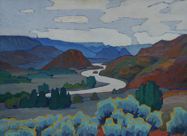 , 'Rio Grande,' 1916-1966, JRB Art at The Elms