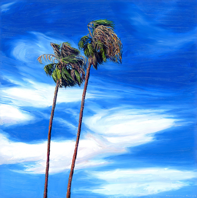 , 'Palm Springs Sky II,' 2016, Sue Greenwood Fine Art