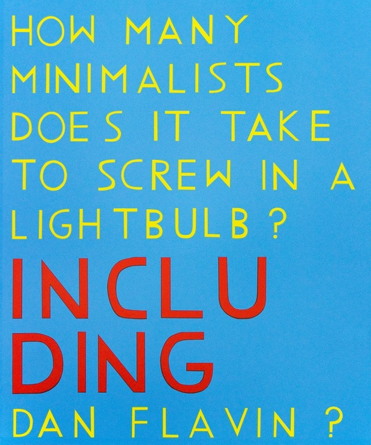 David X Levine, 'How Many Minimalists Does It Take to Screw In A Lightbulb?', 2015, Zane Bennett Contemporary Art