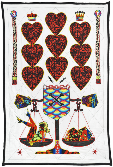, 'Hearts Alive,' 2016, Jonathan LeVine Projects