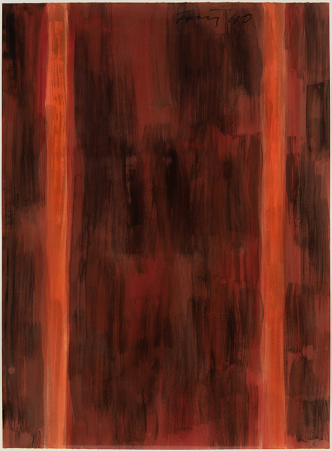 , 'Untitled (red),' 1990, Hollis Taggart