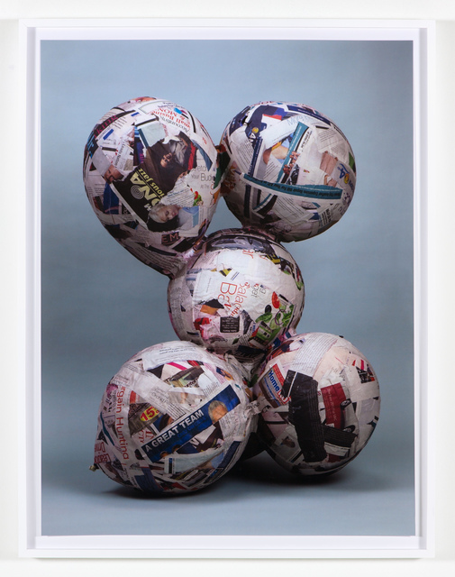, 'Balloon collage (Naked version #1) ,' 2013, Nina Johnson
