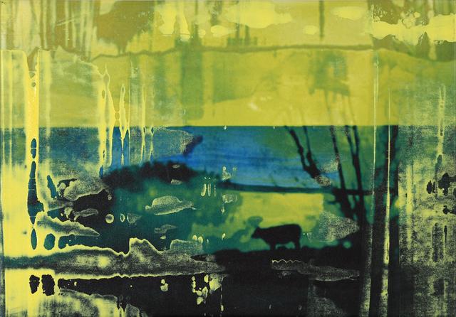 , 'Cow,' 2015, InLiquid