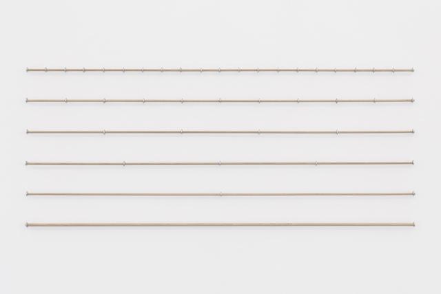 , '100 cm, 50 cm, 25 cm, 20 cm, 10 cm,' 2017, the Goma