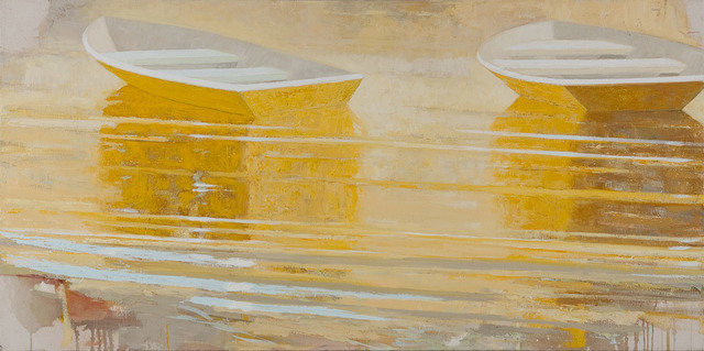 , 'Yellow Dinghies,' 2013-2015, Cross Mackenzie Gallery