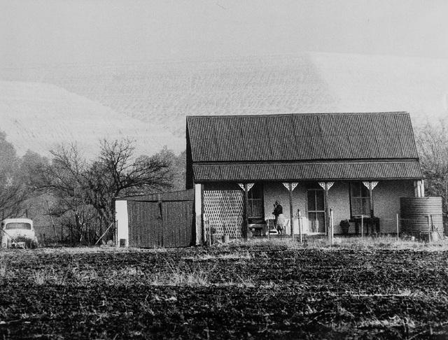 , 'Miner's Cottage and Slimes Dump, New Modder Gold Mine, Benoni,' 1965, James Hyman Gallery