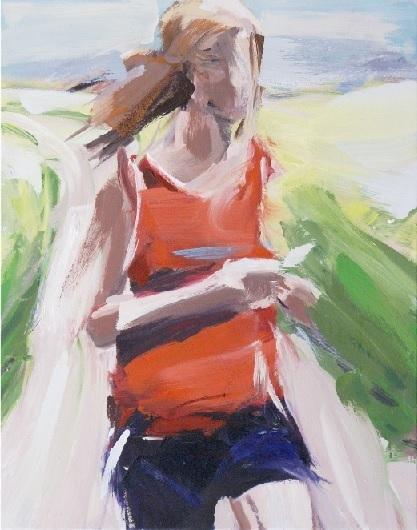 , 'Joggerin,' 2018, Galerie Barbara von Stechow
