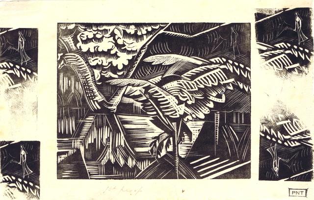 , 'Garden Pond,' 1922, Gerrish Fine Art