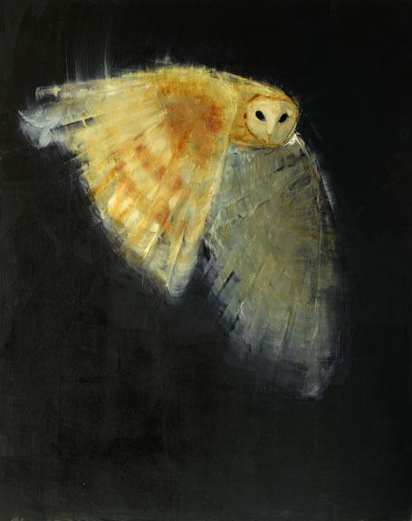 , 'Barn Owl,' 2015, Clark Gallery