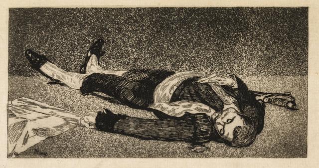 , 'Dead Toreador,' 1867-1868, Statens Museum for Kunst