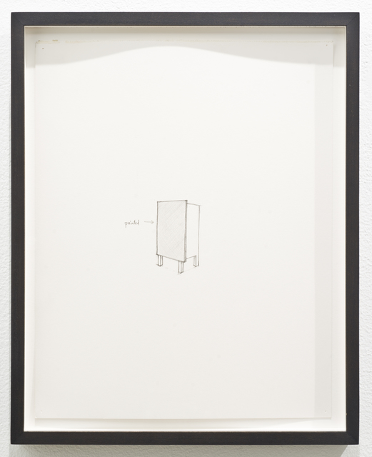 , 'Untitled (painted),' 2012, Lora Reynolds Gallery