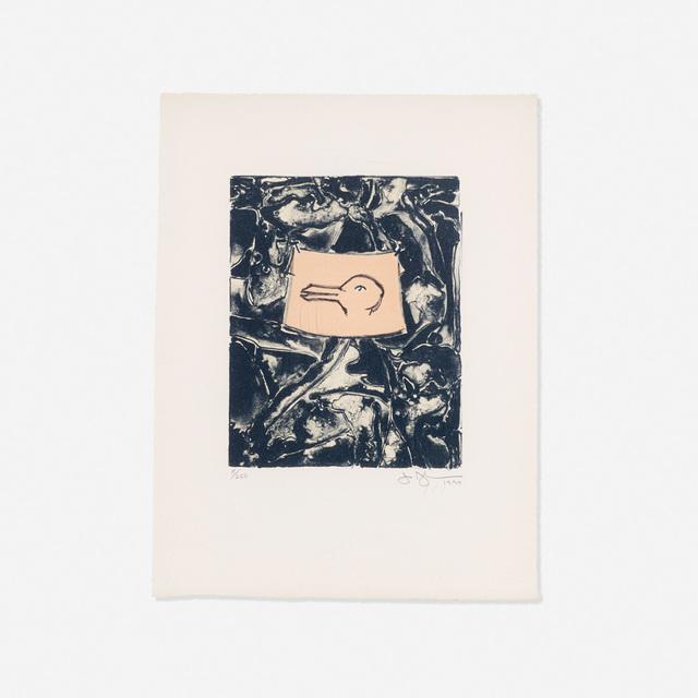 Jasper Johns, 'Untitled (from the Harvey Gantt Portfolio)', 1990, Wright