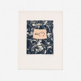 Jasper Johns, 'Untitled (from the Harvey Gantt Portfolio),' 1990, Wright: Prints + Multiples (January 2017)
