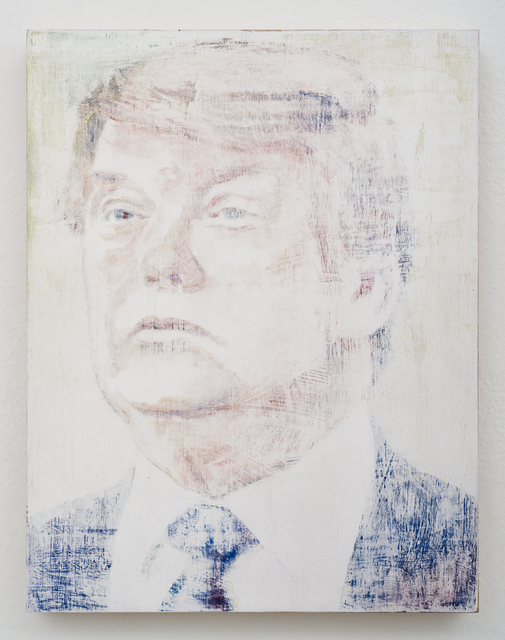 , 'Trump,' 2016, Lora Reynolds Gallery